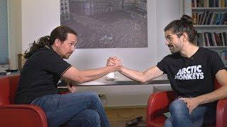 Entrevista a Pablo Iglesias (Segunda vuelta)