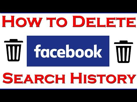 How to Clear Facebook Search History | How to Delete Facebook Search History 2018
