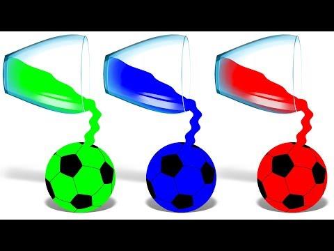 Liquid Colors | Cartoon Video | Educational Video | Kids Video