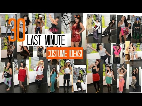 30 Last Minute DIY Halloween Costume Ideas! Lancengi!