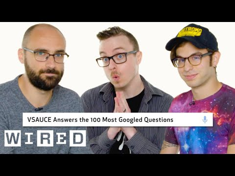 watch Vsauce Answers the 100 Most Googled Questions | WIRED