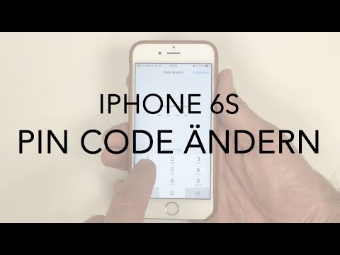iPhone 6 6S PIN Code ändern