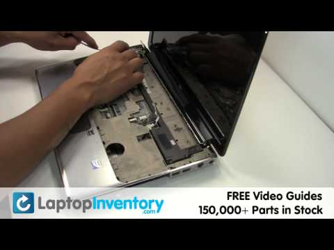 HP Pavilion Touchpad Replacement DV4 DV5 | Touch Pad Buttons, Bezel Laptop Install Replace, Fix
