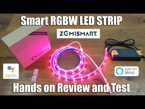 Zemismart Smart RGBW LED Strip [Hands on Review and Test]