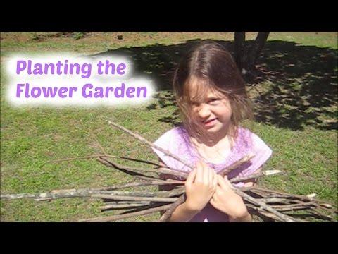 Planting the Flower Garden