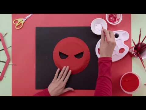 Art Attack   #ShowMeYourArt Episode 4: Spider-Man Mask - Disney Channel Asia