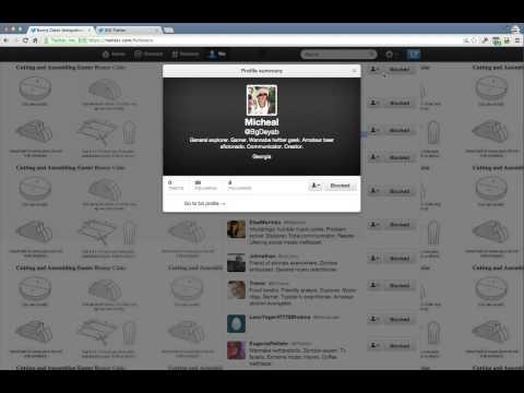 blocking fake twitter followers