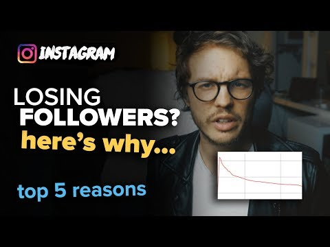 LOSING INSTAGRAM FOLLOWERS for no reason? Here's why...
