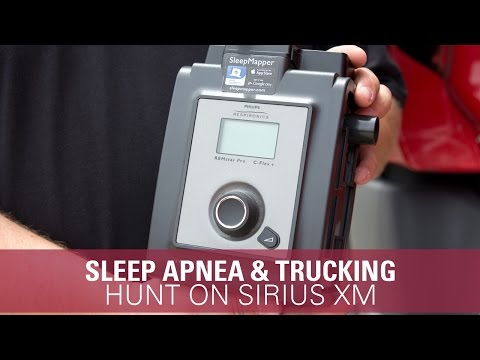 Truck Drivers and Sleep Issues - Hunt on SiriusXM