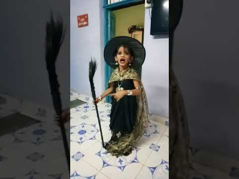 Fancy Dress Competition 1st prize - WITCH character