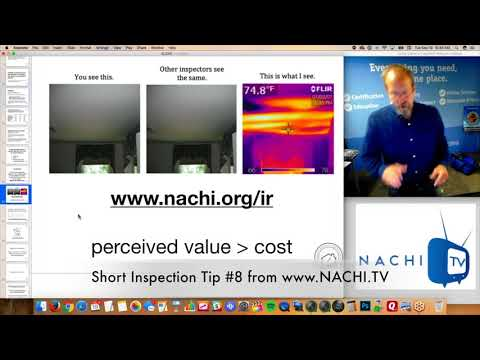 Infrared Inspection Tip #8 for Home Inspectors from www.NACHI.TV