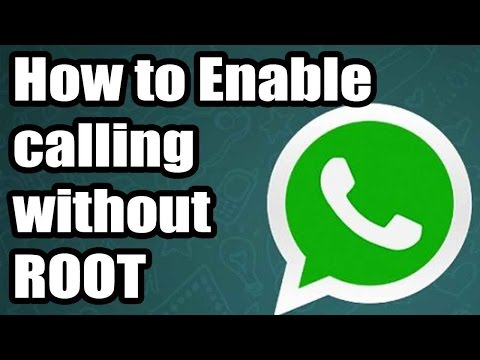 How to activate/enable whatsapp calling feature android without root activation apk