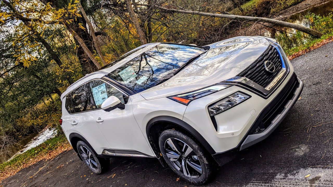 FIRST DRIVE: 2021 Nissan Rogue SL Premium AWD - NEW Car Review & Vehicle Feature in Upstate New York