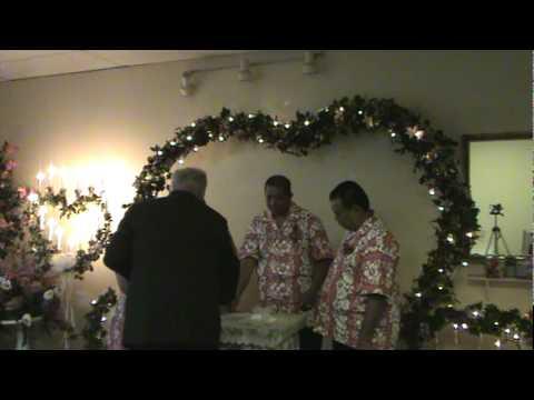 Disa Wedding Marriage License Signing 8-10-10