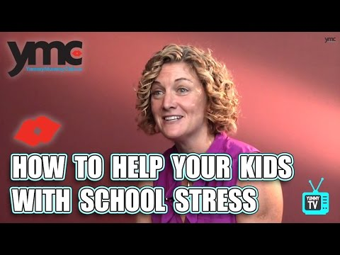 How to Help Your Kids with School Stress
