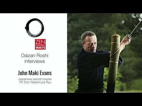 John Evans on Zen, Buddhism and the martial arts