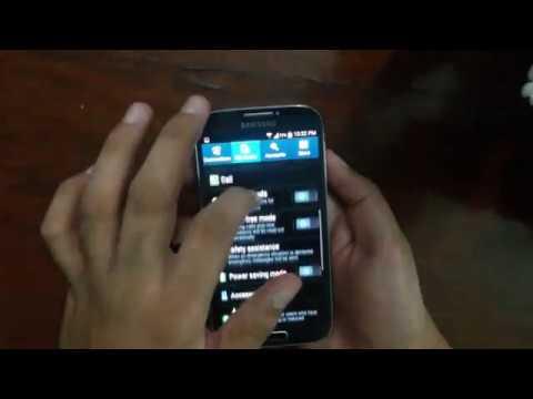 Galaxy S4 Screenshot Capture Tips & Tricks