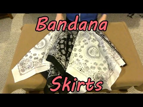 Bandana Skirts: Part 1