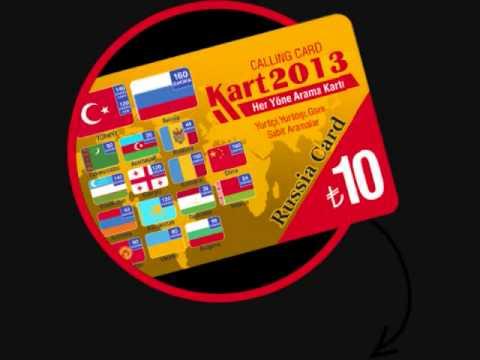 Kart 2013 Kart 2013 :: International Call Charges