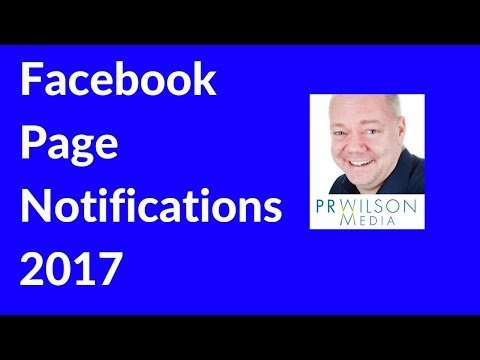 Get Facebook notifications from pages you've liked 2017