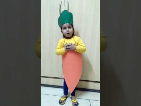 Carrot- Fancy dress competition