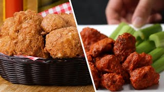 5 Extra Spicy And Easy To Make Deep Fried Recipes • Tasty