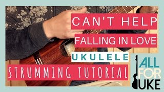 Can't help falling in love Ukelele easy Videos - 9tube tv