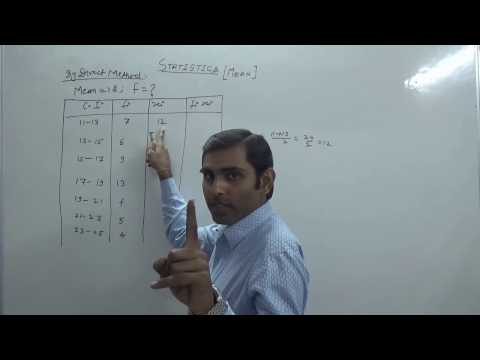 How to Find Missing Frequency (f) When Mean is Given (Hindi) | NCERT 10th Class Maths