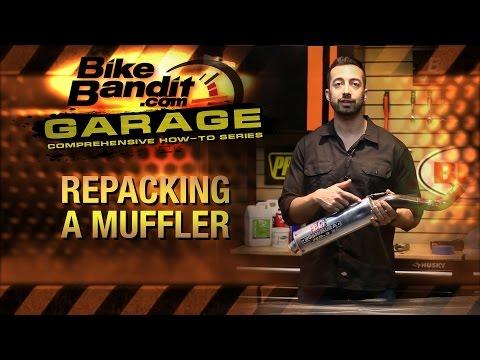 How-to Repack a Motorcycle Muffler | BikeBandit.com
