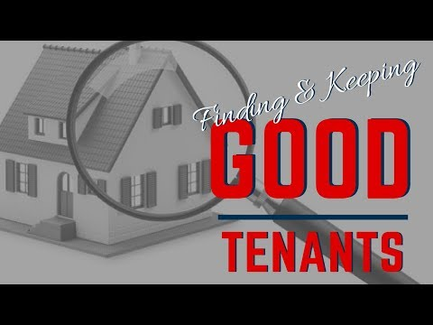 How to Find and Keep Good Tenants in Buford, GA | Landlord Education