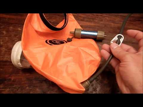 $20 Complete Backpacking Gravity Water Filter System: 5 Minute Build