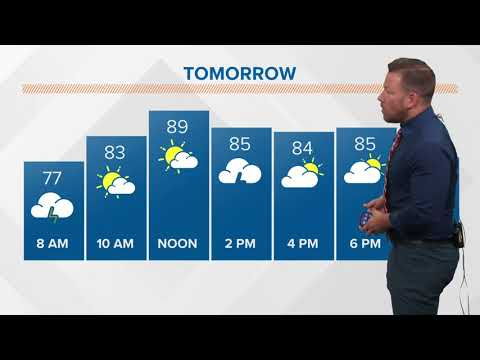 Morning weather forecast 5-28-2018