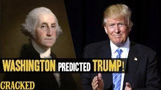 George Washington Totally Predicted President Donald Trump and Fake News