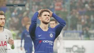 CHELSEA VS TOTTENHAM | EPL English Premier League | Amazing Match !  GAMEPLAY PES 2019