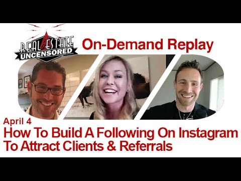 How To Build A Following On Instagram To Attract Clients & Referrals