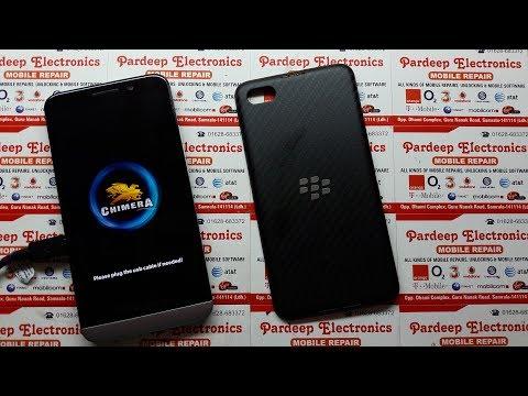BlackBerry Remove ID Anti Theft Protection  Z10, Z30, Q5, Q10, Q20, etc !! Chimera Tool