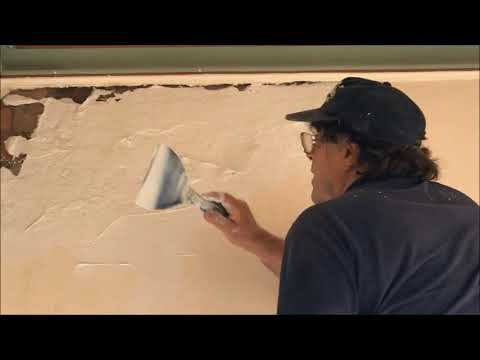 Solid Plastering Repairs with CSR Cornice Cement 45