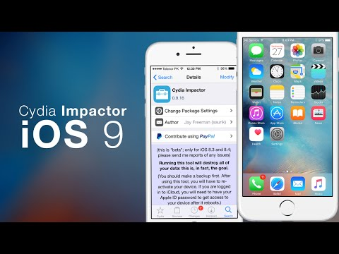 How To Restore iOS Without Updating! Cydia Impactor iOS 9 For iPhone, iPod & iPad
