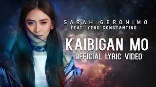 Sarah Geronimo featuring Yeng Constantino - Kaibigan Mo [Official Lyric Video]