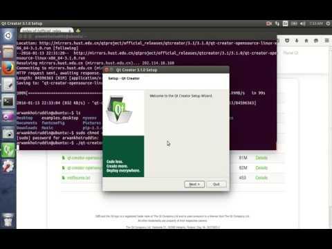 Install Qt Creator on Ubuntu 14.04-64bit