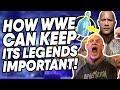 The Secret Formula WWE MUST Adopt To Keep Its Legends Important WrestleTalk