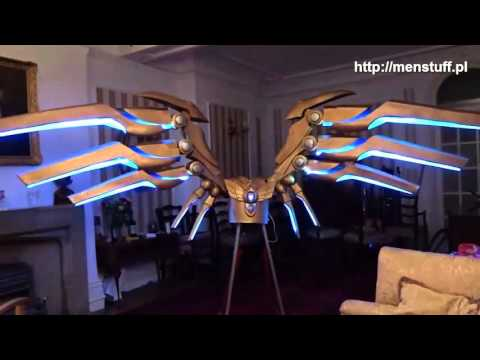 MENSTUFF.PL - Aether Wing Kayle wings mechanics Cosplay