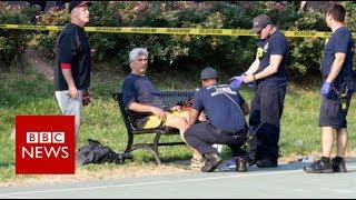 Virginia shooting: Gunman opens fire on top politicians - BBC News