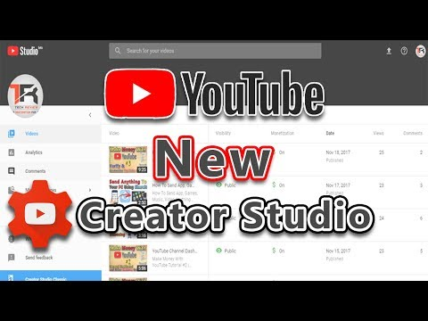 YouTube Creator Studio New Look, Features and Quick Review | In Hindi/Urdu |