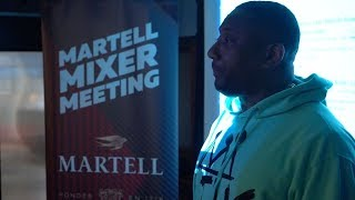 Martell Mixer Meeting | Maino & Yungeen Ace Stop By To Debut New Music