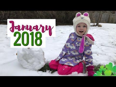 Monthly Memories #1: January 2018 | Video Diary