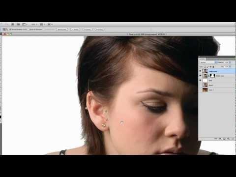Photoshop CS5:  Quick Selection Tool