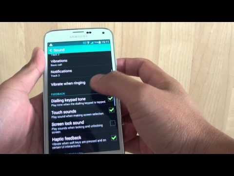 Samsung Galaxy S5: How to Enable/Disable Screen Lock Sound