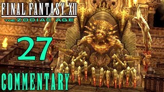 Final Fantasy XII The Zodiac Age Walkthrough Part 27 - Demon Wall Round 2 (PS4 Gameplay)