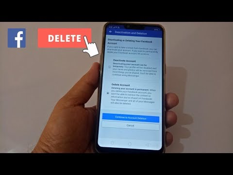 How to Delete Facebook Lite Account Permanently On Mobile | 100% Working Latest Updates 2018